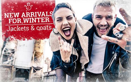 New arrivals for winter: Jackets & coats