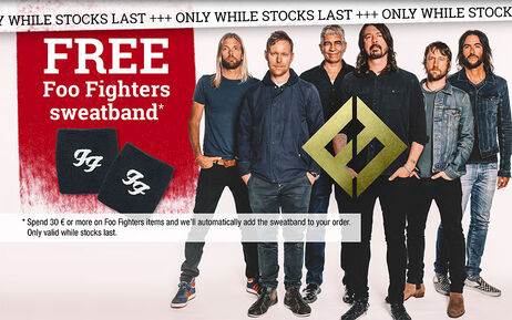FREE Foo Fighters sweatband