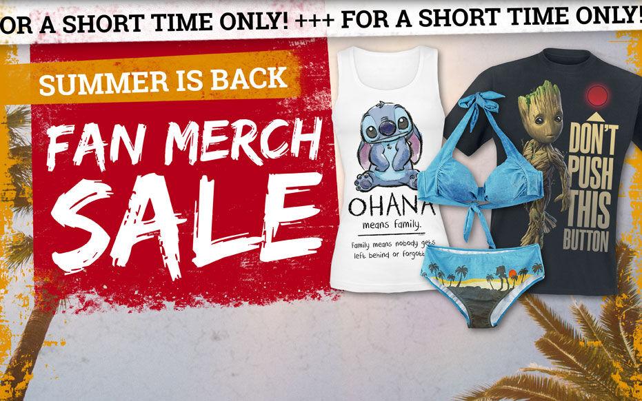 Fan merch - Now discounted!