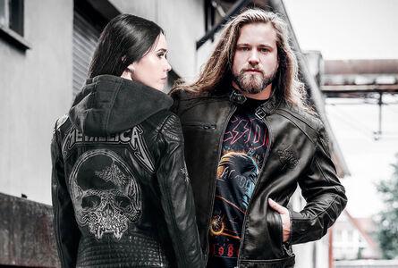 Leather jackets!