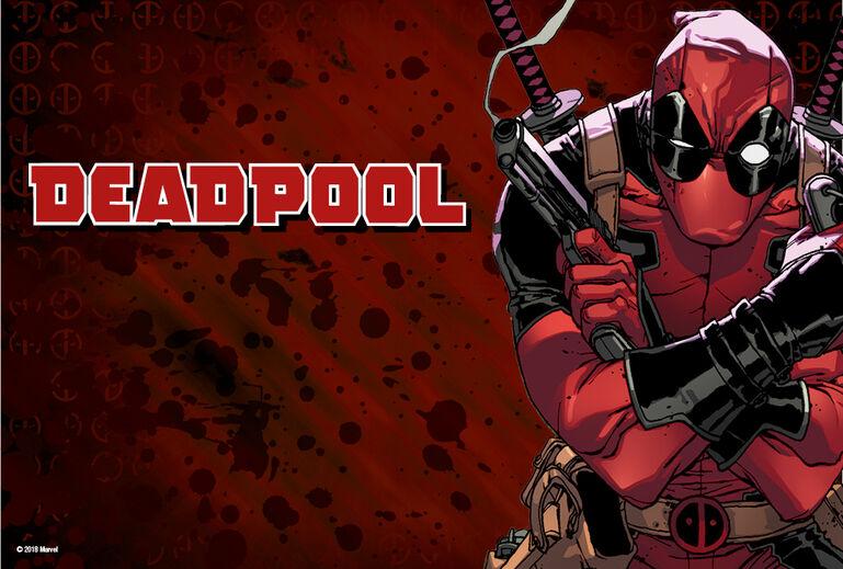 Official Deadpool Movie Cartoon Marvel Comics T-Shirt