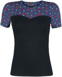 Cat Paws & Cherries Girl Basic Shirt
