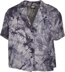 Ladies Viscose Tie Dye Resort Shirt