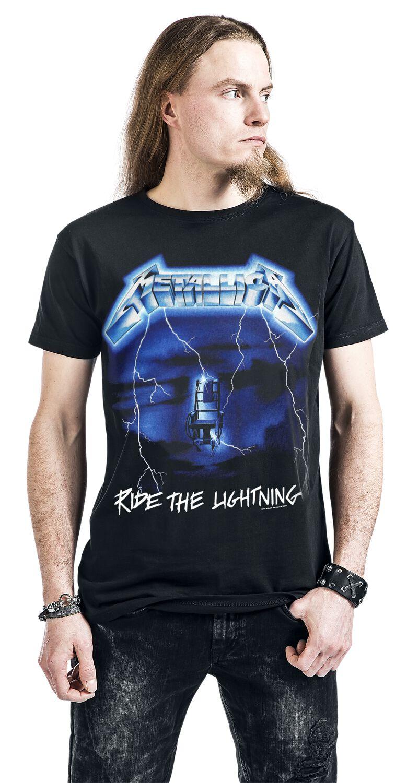 7fbfed4eb Metallica. Ride The Lightning. T-Shirt. 8 Reviews