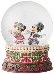 Mickey and Minnie - Snow Globe
