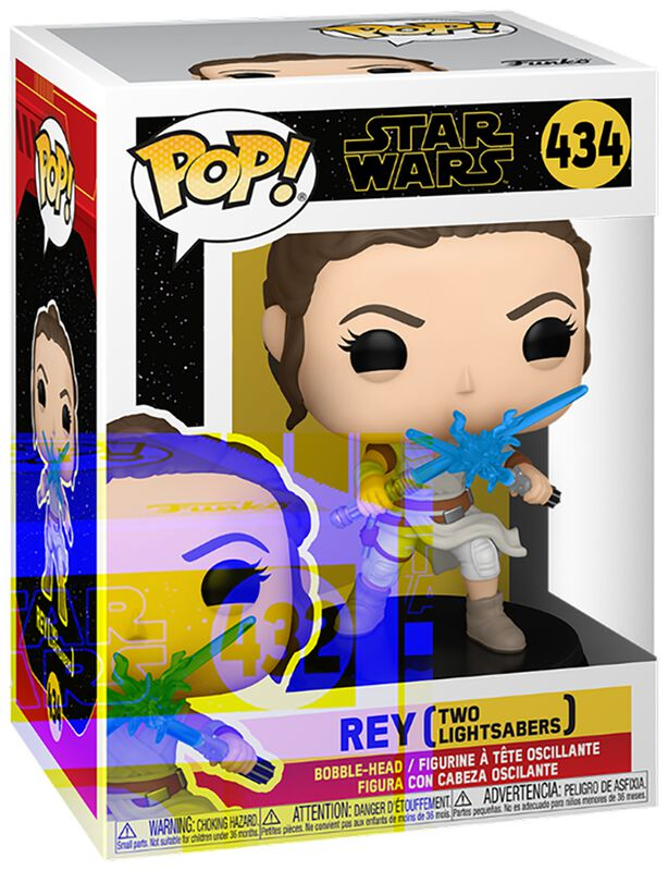 The Rise of the Skywalker - Rey (Two Lightsabers) Vinyl Figure 434
