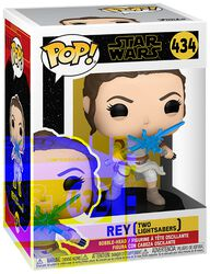The Rise of the Skywalker - Rey (Two Lightsabers) Vinyl Figur 434