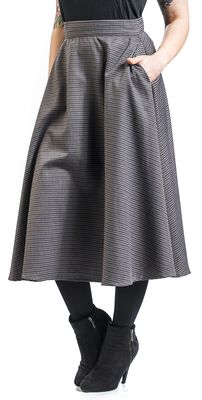 Cute Checkmate Skirt