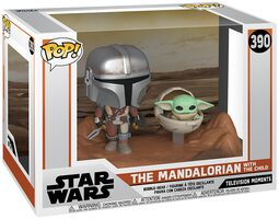The Mandalorian - The Mandalorian with The Child (Movie Moments) Vinyl Figure 390
