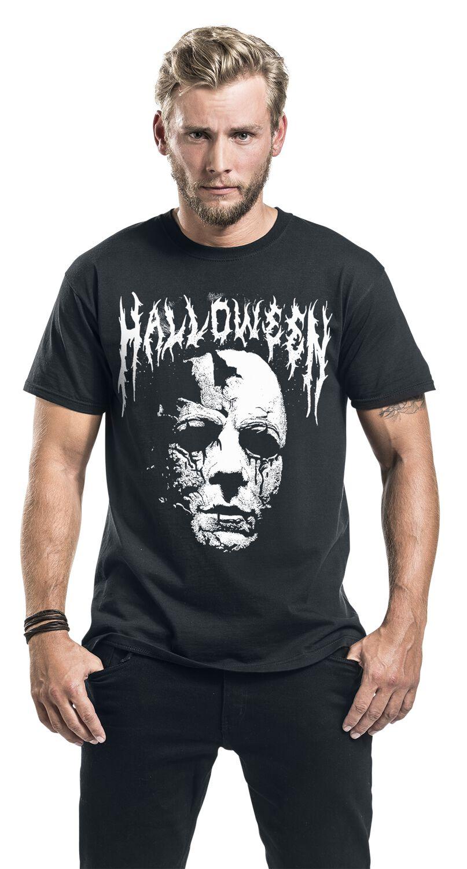 507829fc Michael Myers - Black Metal Logo | Halloween T-Shirt | EMP