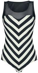 Big Party Stripes Swimsuit
