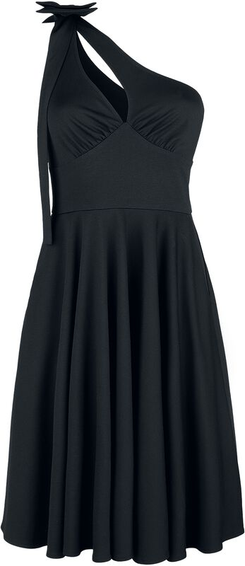 Selma That Little Black One Shoulder Bow Dress