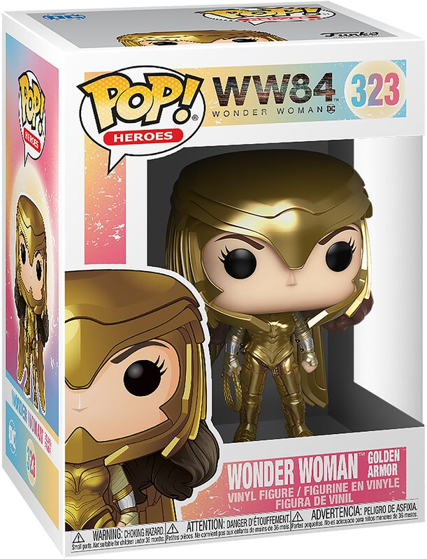 1984 - Wonder Woman Golden Armor Vinyl Figure 323