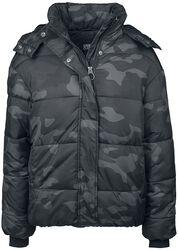 Ladies Boyfriend Camo Puffer Jacket