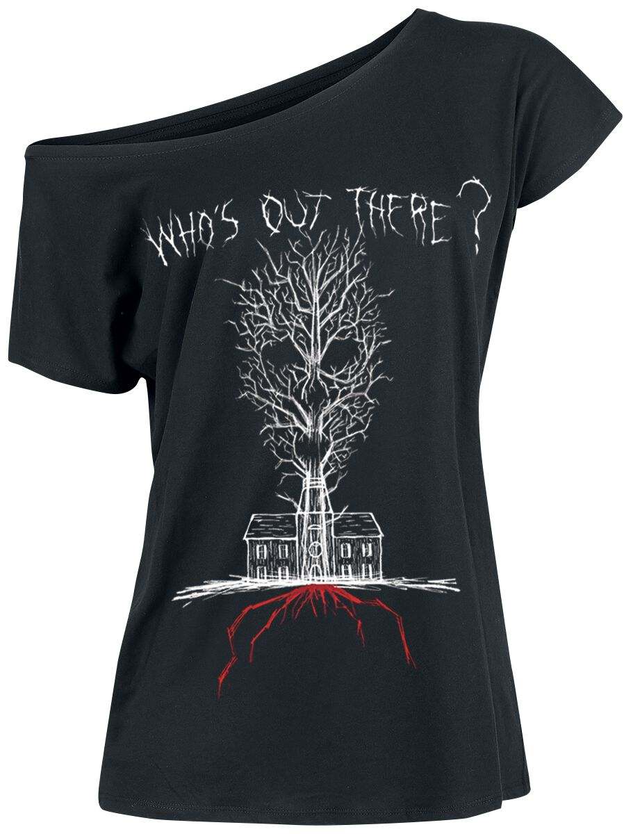 7c1311b91cca Who's Out There | American Horror Story T-Shirt | EMP