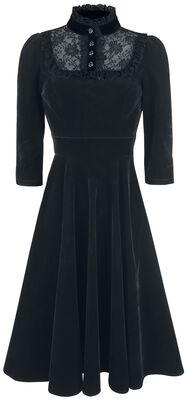 Nightshade Velvet Dress