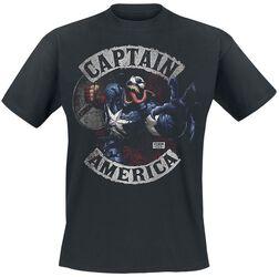 Venomized Captain America