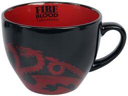 House Targaryen - Cappuccino Mug