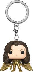 1984 - Wonder Woman Without Helmet Pocket POP! Keychain