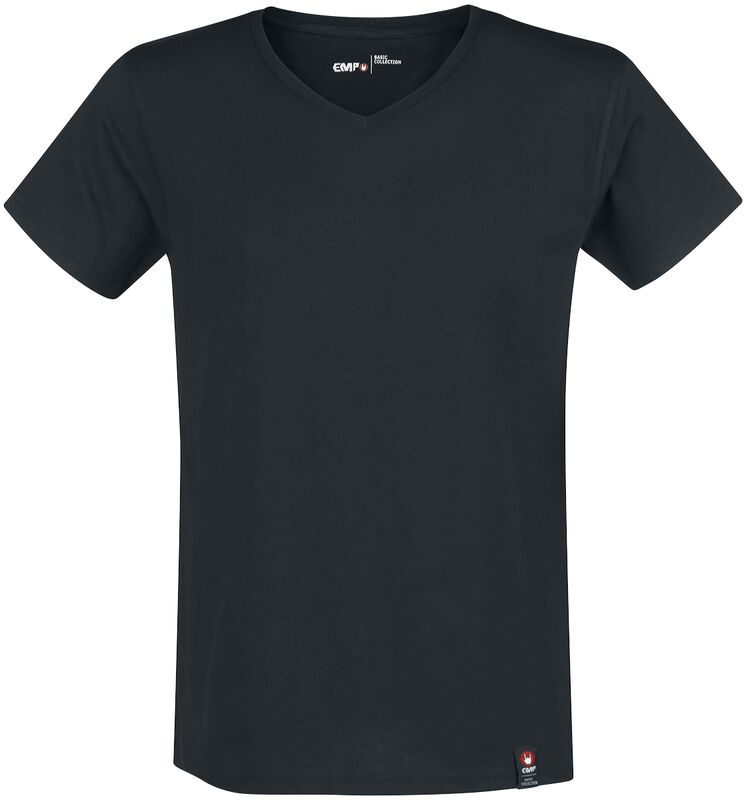 Black T-shirt with EMP Logo