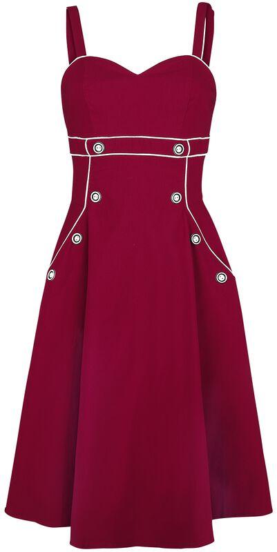 Claudia Red Seaside Dress