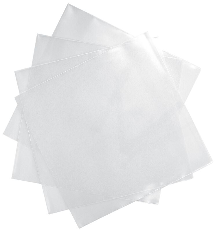 Vinyl Slipcovers (100 pieces) For Singles