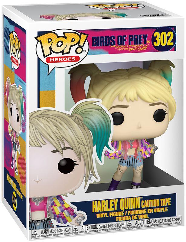 Harley Quinn Caution Tape Vinyl Figure 302