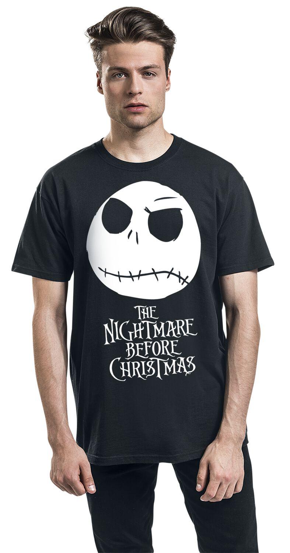 Jack Head   The Nightmare Before Christmas T-Shirt   EMP
