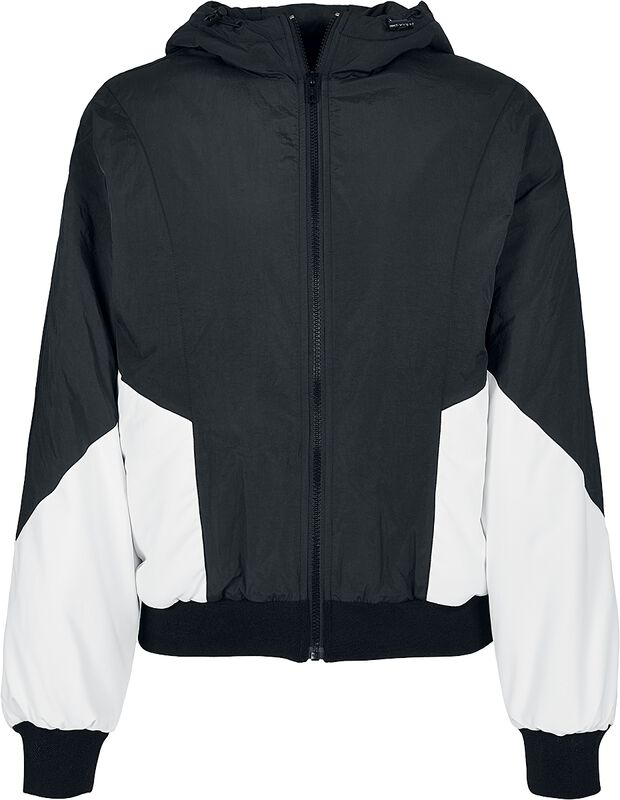 Ladies Padded 2-Tone Batwing Jacket
