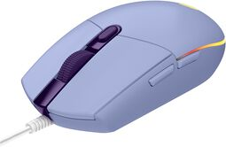 G203 Lilac Lightsync Gaming Mouse