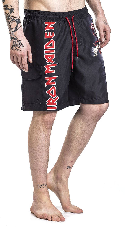 027c1a2373 EMP Signature Collection | Iron Maiden Swim Shorts | EMP