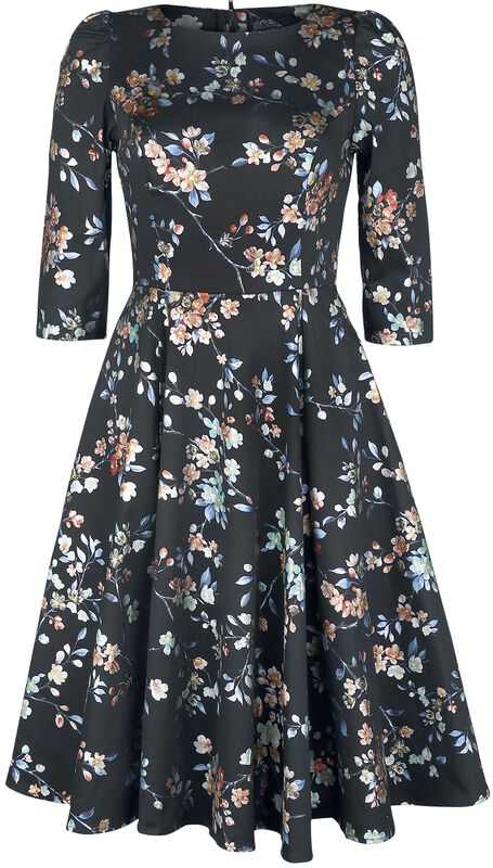Leila Rose Metallic Swing Dress