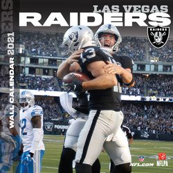 Las Vegas Raiders - 2021 Calendar