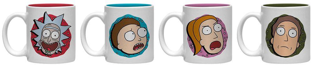 Characters Espresso Cups Set