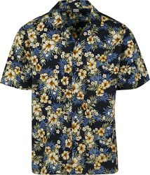 Pattern Resort Shirt Hibiscus
