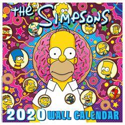 Simpsons 2020 Wall Calendar