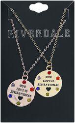 Our Love is sensational bestie Necklace Set