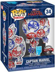 Captain Marvel - (Art Series) Vinyl Figure 34