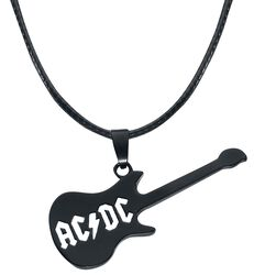 Highway to Hell Guitar Necklace