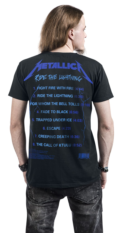 fc495c8d57dc Ride The Lightning. T-Shirt
