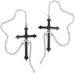 Gothic Cross Earstuds