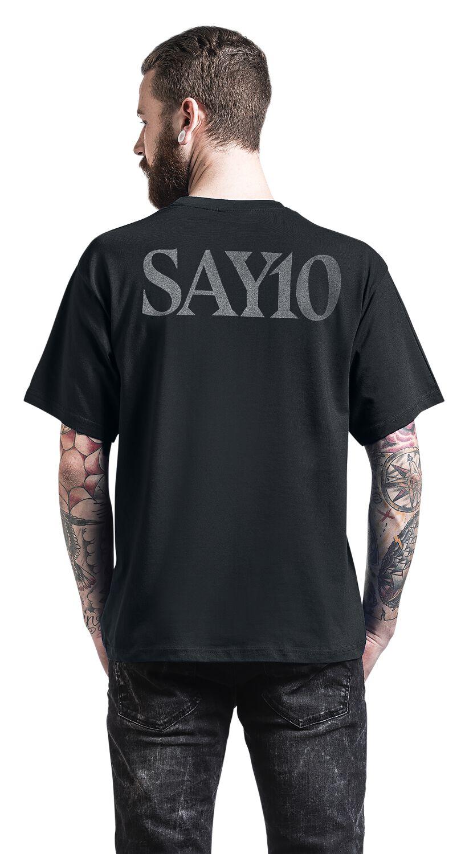 f5a408f64b71 MM Cross Black Onyx | Marilyn Manson T-Shirt | EMP