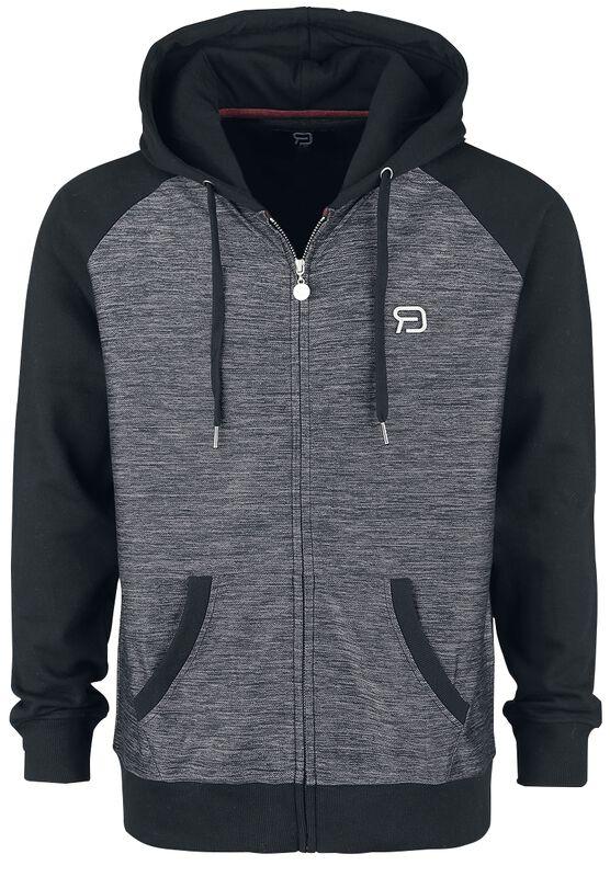 Grey/Black Hooded Jacket