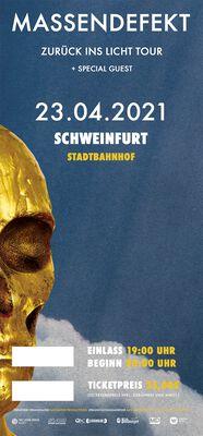 Zurück ins Licht - Schweinfurt - 23.04.2021 - Stadtbahnhof