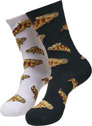 Pizza Slices Socks 2-Pack