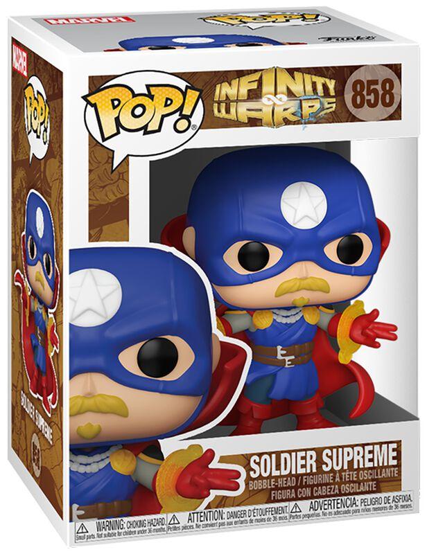 Infinity Warps - Soldier Supreme Vinyl Figure 858