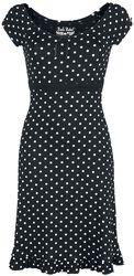 Rock Rebel Rockabilly Dress with Spots