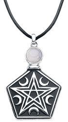Tearbottle Pentagram Necklace