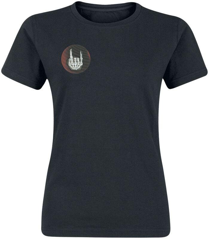 Black T-shirt with Hologram Logo