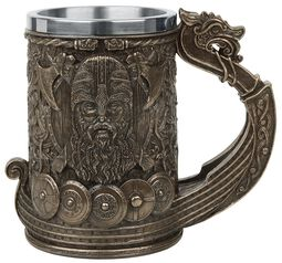Bronze Drakkar Viking